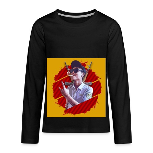 smoke - Kids' Premium Long Sleeve T-Shirt