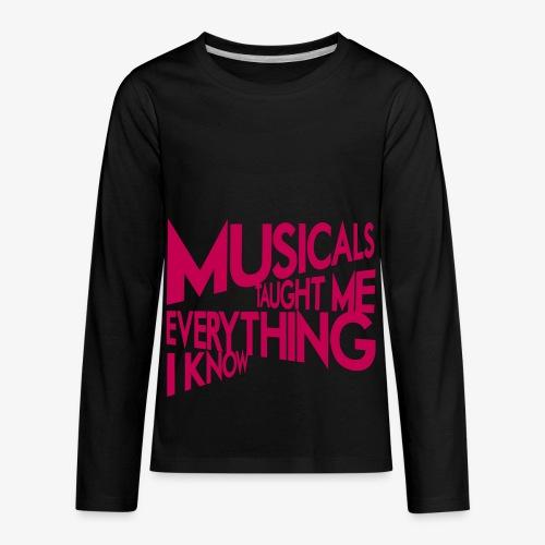 MTMEIK Pink Logo - Kids' Premium Long Sleeve T-Shirt