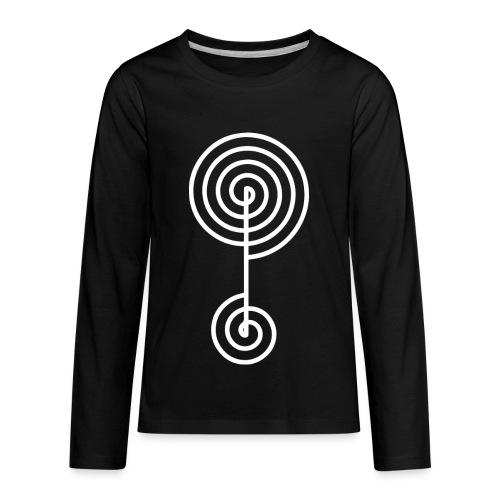 spiral 1 - Kids' Premium Long Sleeve T-Shirt