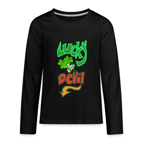 Lucky devil - Kids' Premium Long Sleeve T-Shirt