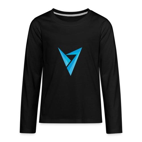 v logo - Kids' Premium Long Sleeve T-Shirt