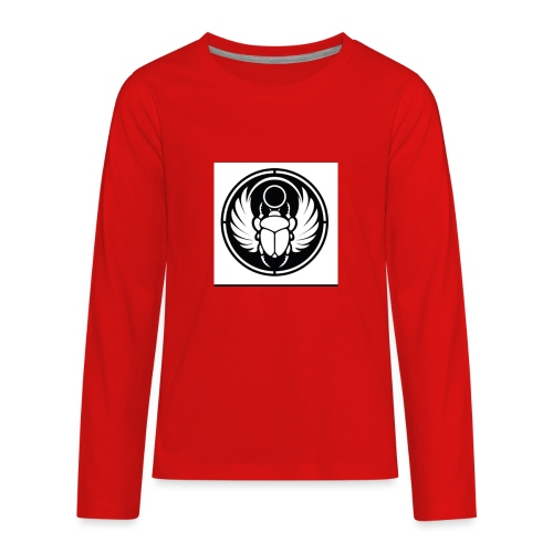 Scarab - Kids' Premium Long Sleeve T-Shirt