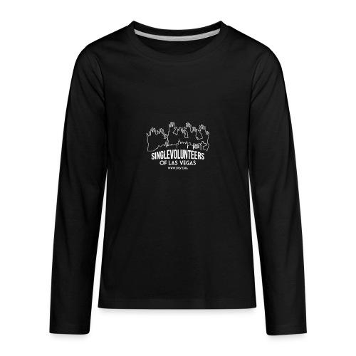 SingleVolunteers - Kids' Premium Long Sleeve T-Shirt