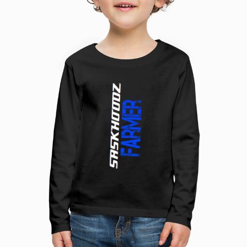 saskhoodz farming - Kids' Premium Long Sleeve T-Shirt