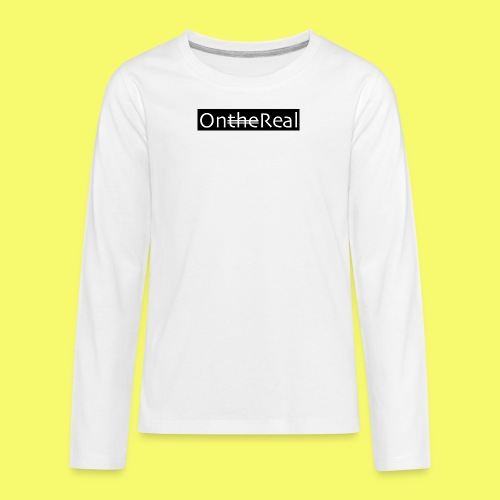 OntheReal coal - Kids' Premium Long Sleeve T-Shirt