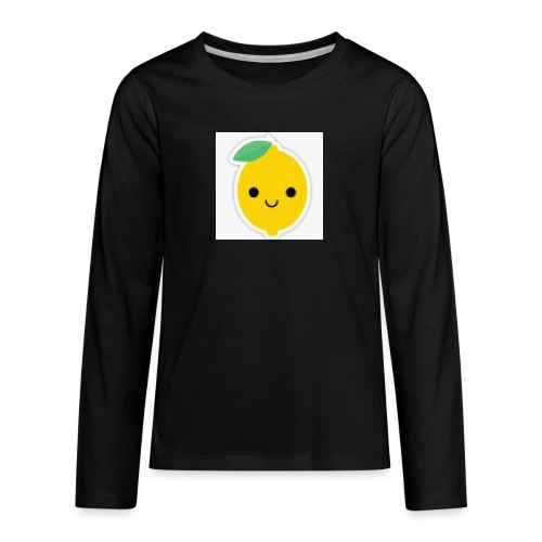 Lemon Squeeze - Kids' Premium Long Sleeve T-Shirt