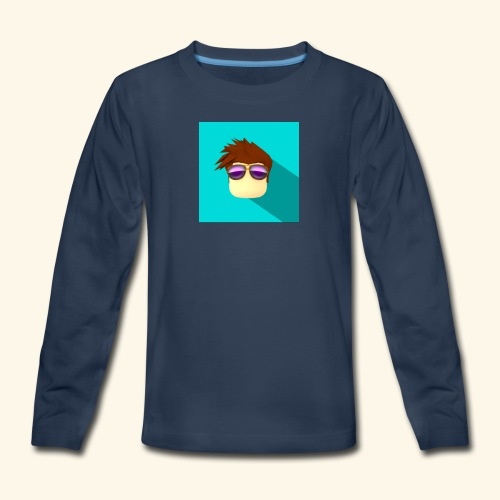 NixVidz Youtube logo - Kids' Premium Long Sleeve T-Shirt