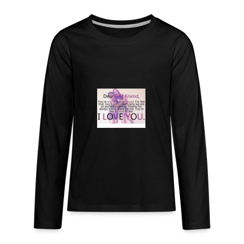 Cute best friends - Kids' Premium Long Sleeve T-Shirt