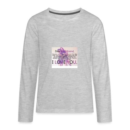 Cute best friends - Kids' Premium Long Sleeve T-Shirt
