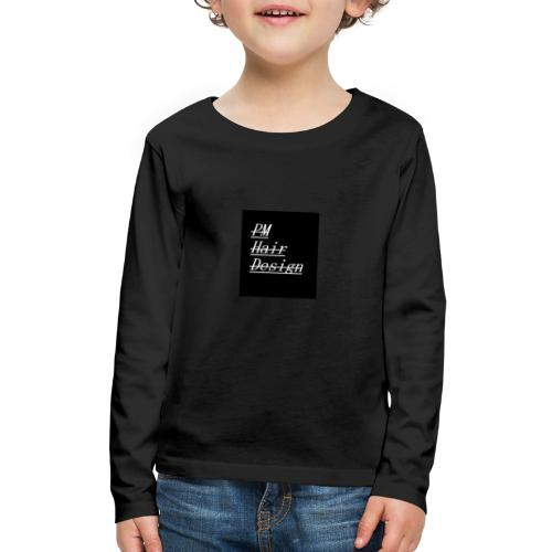 PM Hair Design - Kids' Premium Long Sleeve T-Shirt