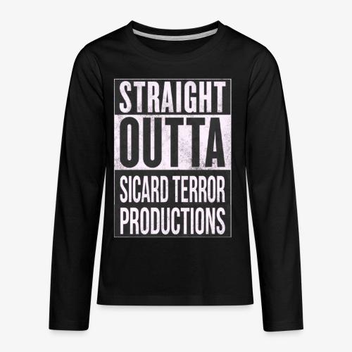 Strait Out Of Sicard Terror Productions - Kids' Premium Long Sleeve T-Shirt
