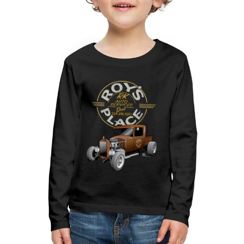 RoysRodDesign052319_4000 - Kids' Premium Long Sleeve T-Shirt