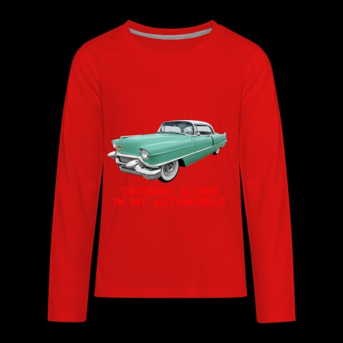 CRUISING ALONG - Kids' Premium Long Sleeve T-Shirt