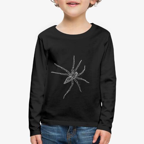 grass spider inv - Kids' Premium Long Sleeve T-Shirt