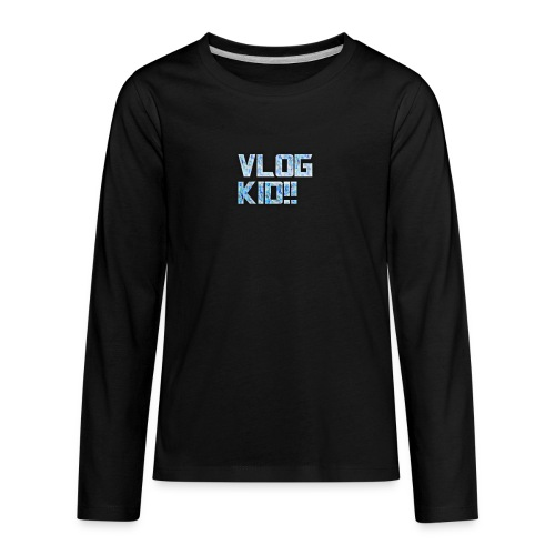 Vlog Kid - Kids' Premium Long Sleeve T-Shirt