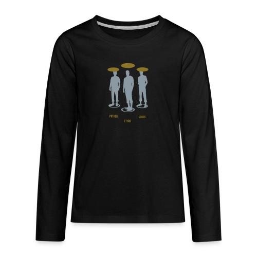 Pathos Ethos Logos 1of2 - Kids' Premium Long Sleeve T-Shirt