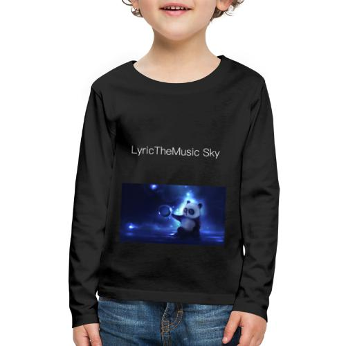 """LyricTheMusic Sky"" MERCH - Kids' Premium Long Sleeve T-Shirt"