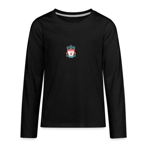 Logo LiverpoolFC - Kids' Premium Long Sleeve T-Shirt