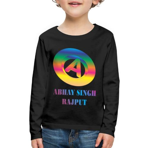 abhay - Kids' Premium Long Sleeve T-Shirt