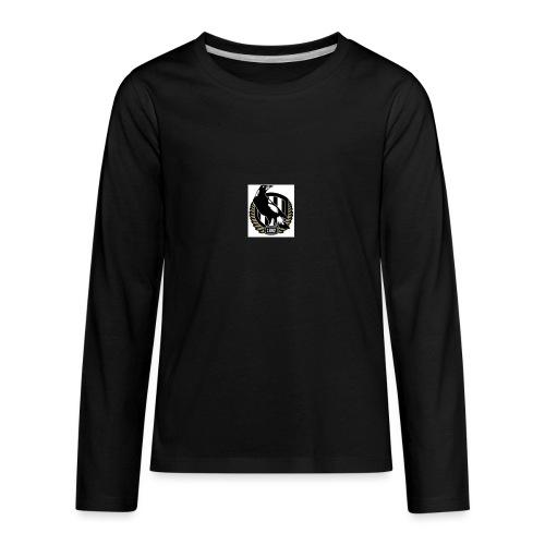 collingwood - Kids' Premium Long Sleeve T-Shirt
