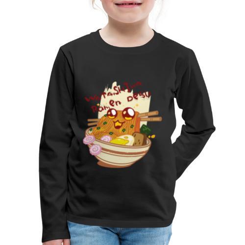 Watashiwa Ramen Desu - Kids' Premium Long Sleeve T-Shirt