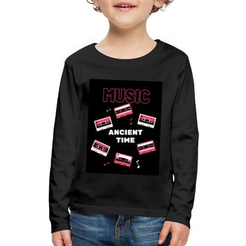 Music Ancient time - Kids' Premium Long Sleeve T-Shirt