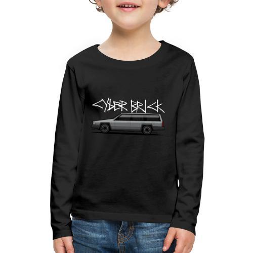 Cyberbrick Future Electric Wagon Graffiti - Kids' Premium Long Sleeve T-Shirt
