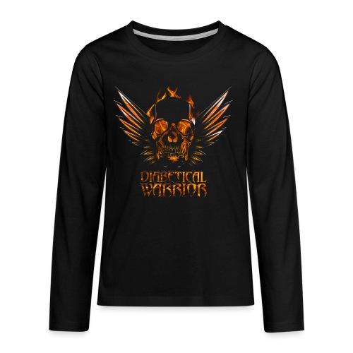 Diabetical Warrior - Kids' Premium Long Sleeve T-Shirt