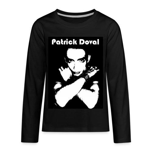 Patrick Doval Logo - Kids' Premium Long Sleeve T-Shirt