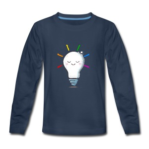 Lighten Up - Kids' Premium Long Sleeve T-Shirt