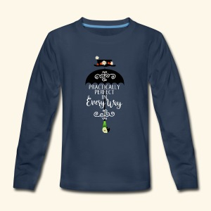 Practically Full-Colored b - Kids' Premium Long Sleeve T-Shirt