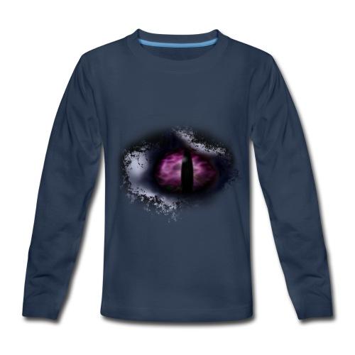 Dragon Eye - Kids' Premium Long Sleeve T-Shirt