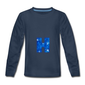 XxHaunter Logo - Kids' Premium Long Sleeve T-Shirt