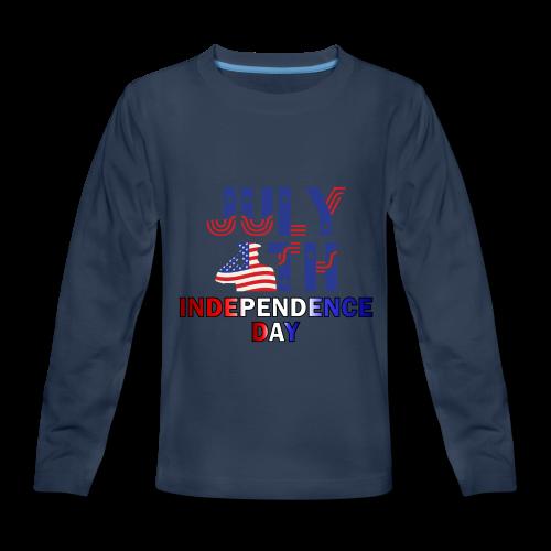 UNIQUE DESIGN 4th OF JULY T-SHIRTS - Kids' Premium Long Sleeve T-Shirt