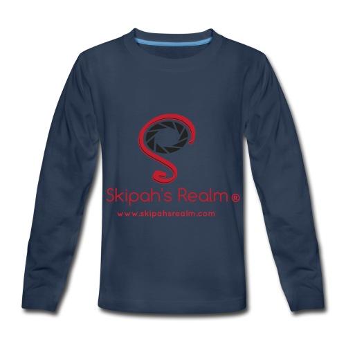 Skipah's Realm - Kids' Premium Long Sleeve T-Shirt