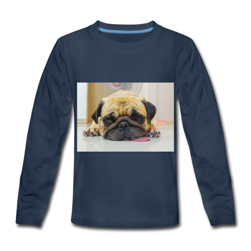 sick dog - Kids' Premium Long Sleeve T-Shirt