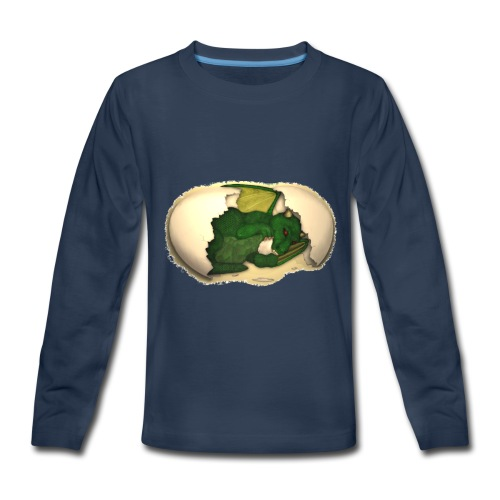 The Emerald Dragon of Nital - Kids' Premium Long Sleeve T-Shirt