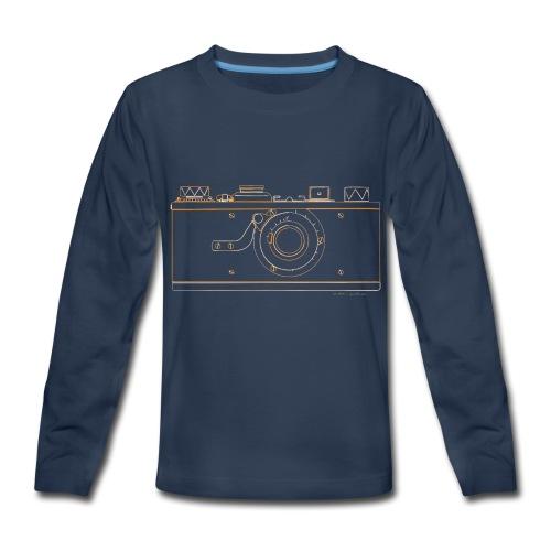 GAS - Leica M1 - Kids' Premium Long Sleeve T-Shirt