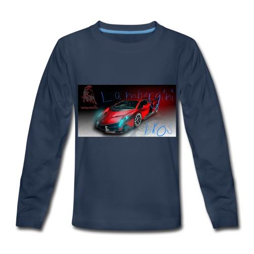2AA4D962 2BDA 45E2 B4BB 7C7D86C27B6B - Kids' Premium Long Sleeve T-Shirt