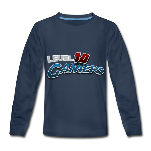 Level10Gamers Logo - Kids' Premium Long Sleeve T-Shirt