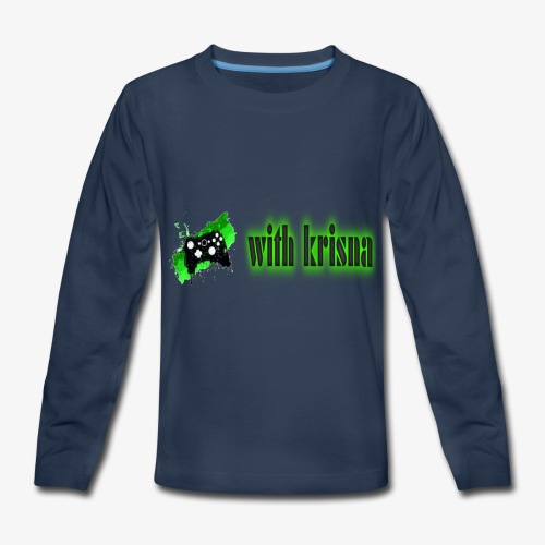 gaming with krisna merch - Kids' Premium Long Sleeve T-Shirt