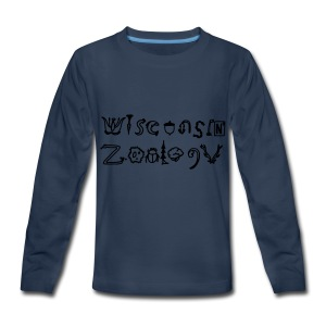 Wisconsin Zoology - Kids' Premium Long Sleeve T-Shirt
