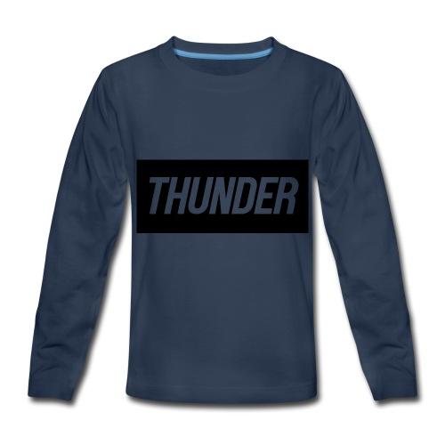 Thunder - Kids' Premium Long Sleeve T-Shirt