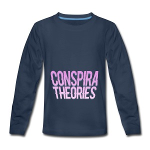 Women's - ConspiraTheories Official T-Shirt - Kids' Premium Long Sleeve T-Shirt