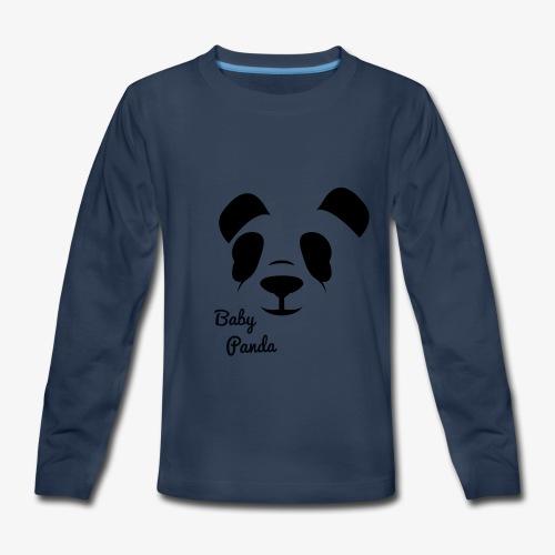 Baby Panda - Kids' Premium Long Sleeve T-Shirt