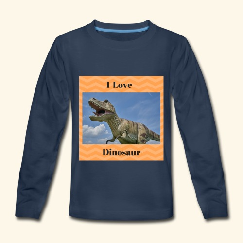I Love dinosaure - Kids' Premium Long Sleeve T-Shirt