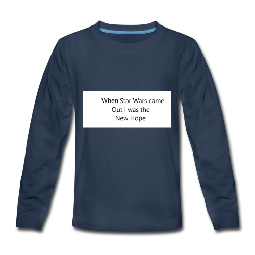 Star Wars - Kids' Premium Long Sleeve T-Shirt