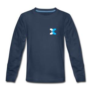 Cosmic Cryo Logo - Kids' Premium Long Sleeve T-Shirt