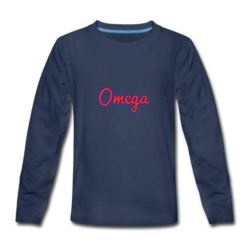 Omega Youth - Kids' Premium Long Sleeve T-Shirt