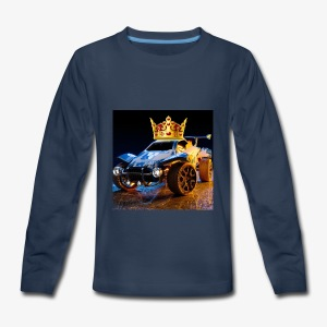 Rocketmasters logo - Kids' Premium Long Sleeve T-Shirt